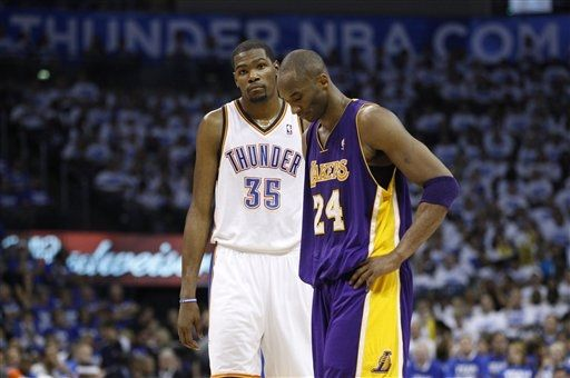 timeless design 6630f 5909f Opposite Ends of the Clutch Spectrum  Kobe and KD - Warriors World