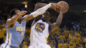 Andre Iguodala and Harrison Barnes