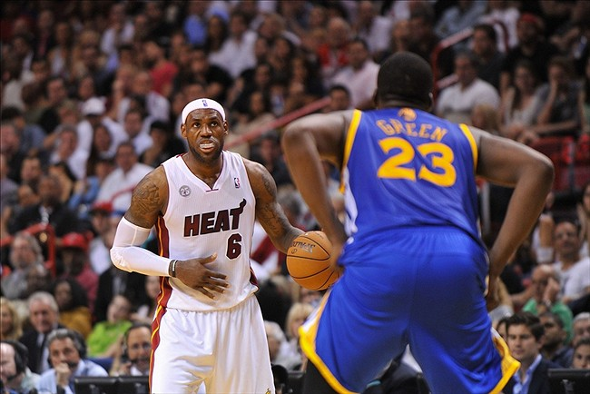 Draymond Green Vs. LeBron James
