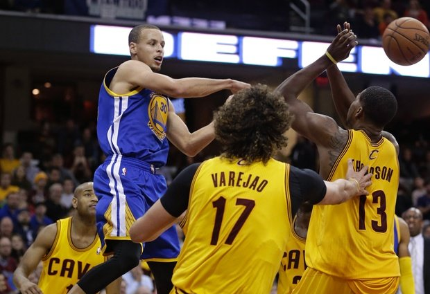 Stephen Curry Vs. Cavs