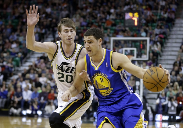 Gordon Hayward, Klay Thompson