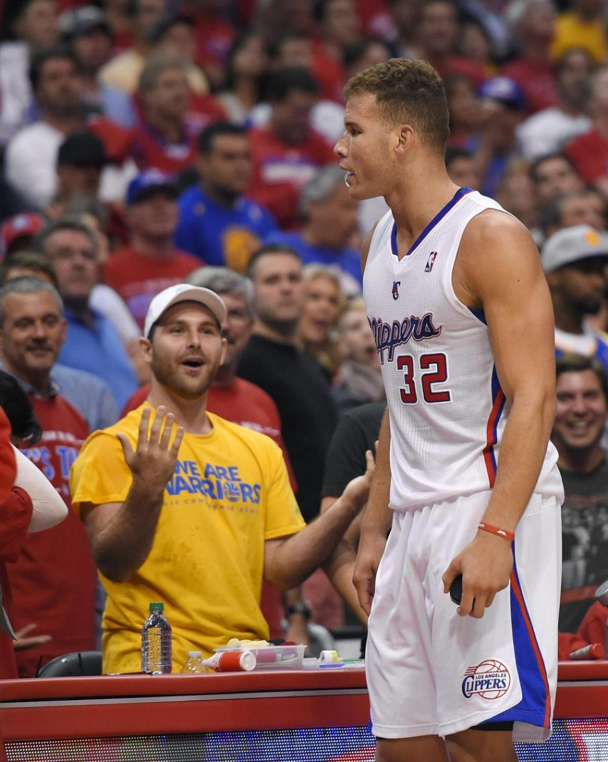 Will Meldman Blake Griffin Water Drenched