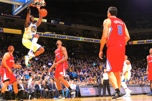 barnes dunk against clippers