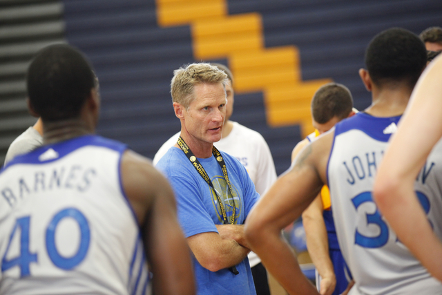 Coach Steve Kerr Golden State Warriors