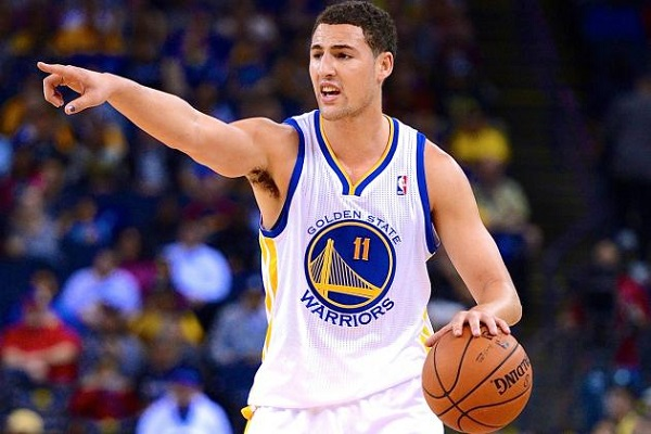 Klay Thompson Dribbling NBA