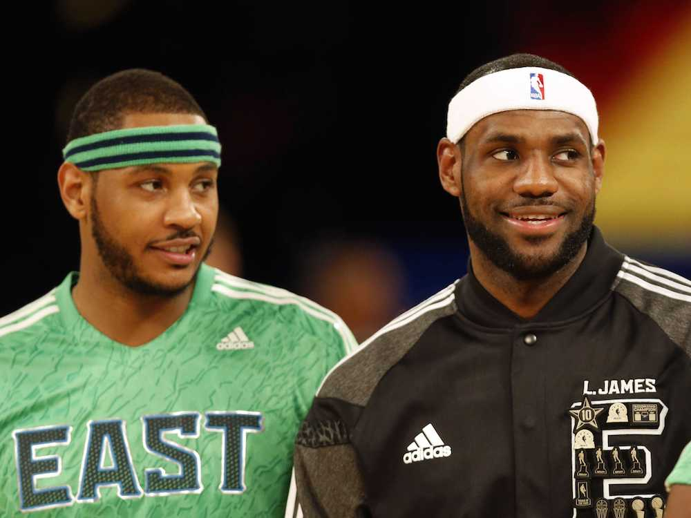 LeBron and Melo