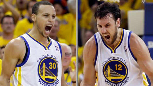 Andrew bogut warriors screaming