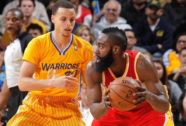 Curry and Harden