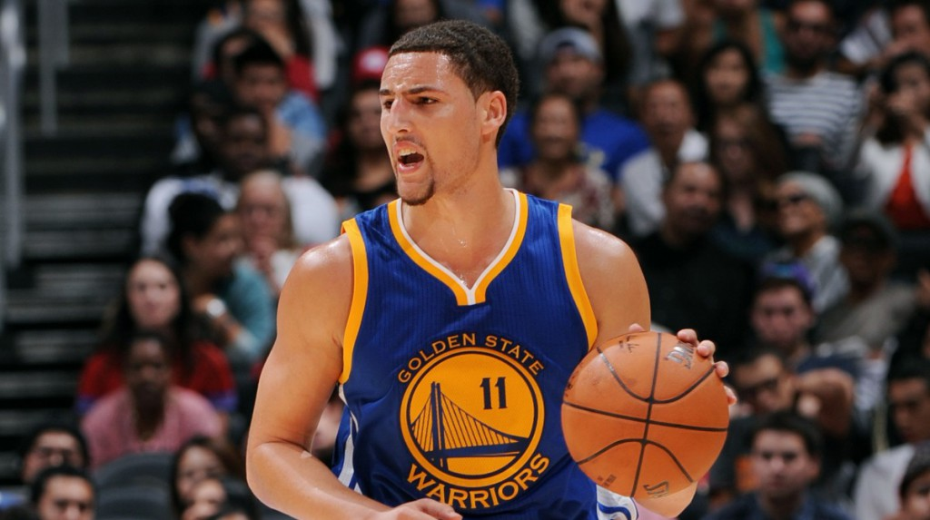 Klay Thompson Serious