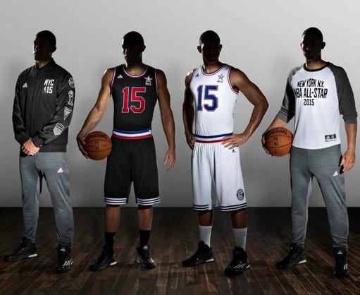 NBA & Adidas Unveil Jerseys For 2015 NBA All-Star Game – Warriors ...