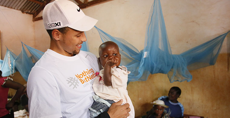 92d91038d102 Warriors News  Join Stephen Curry In The Fight Against Malaria