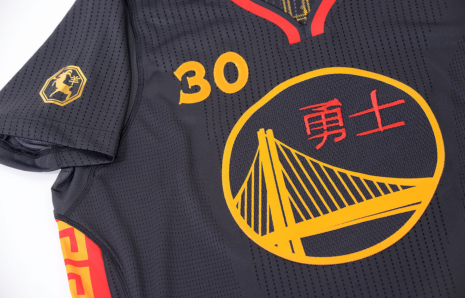 big sale 0020d 70a07 Photos: Warriors Unveil Chinese New Year Uniforms