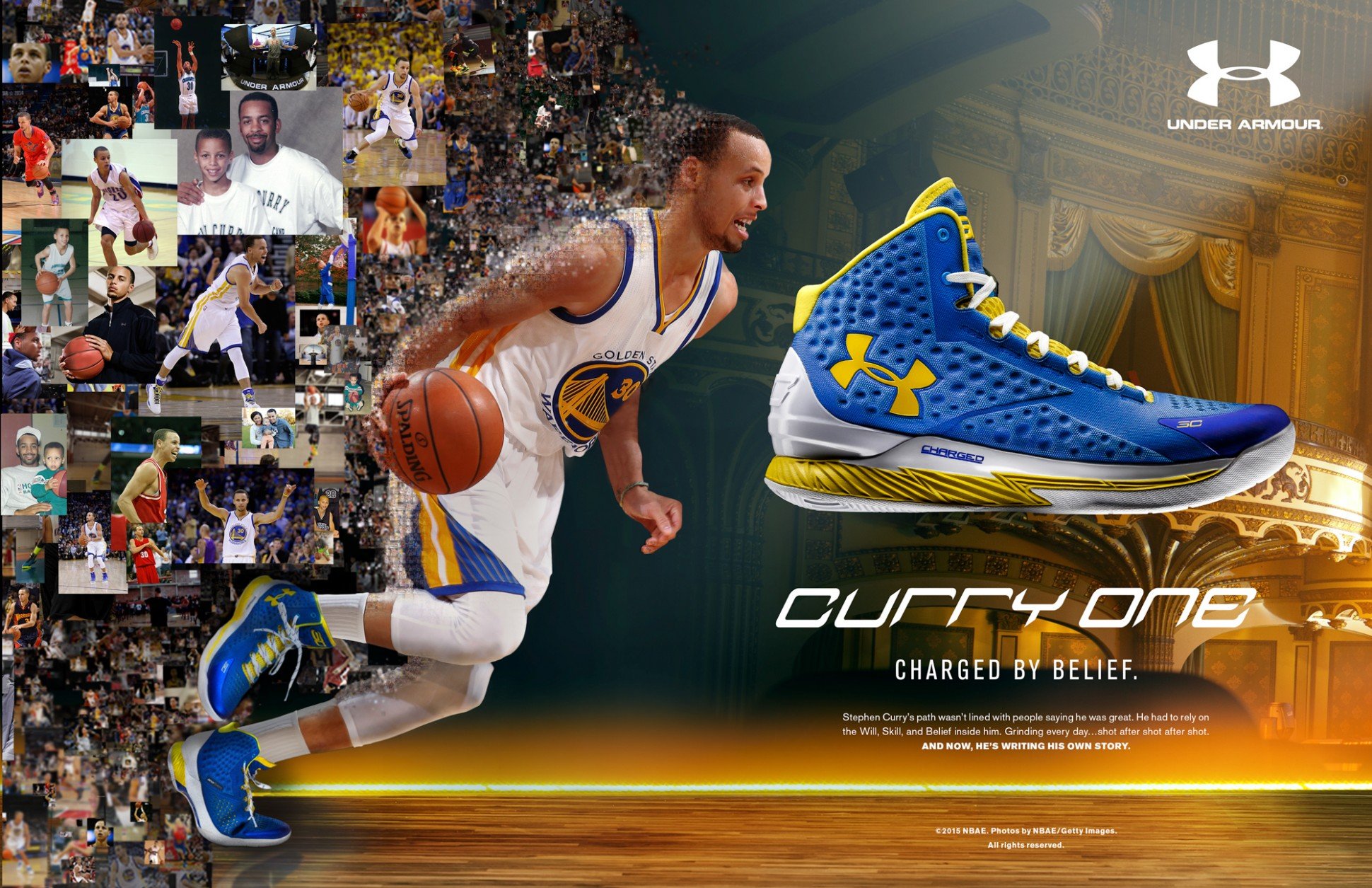 Steph Curry Reviewing The Under Armour One