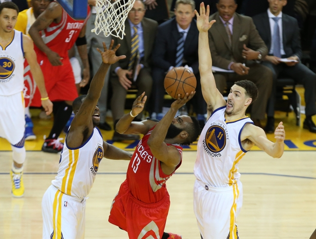 60400105a8fb How the Warriors Defended James Harden in Game 2