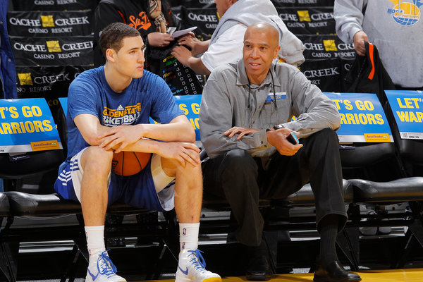 Klay and Dad
