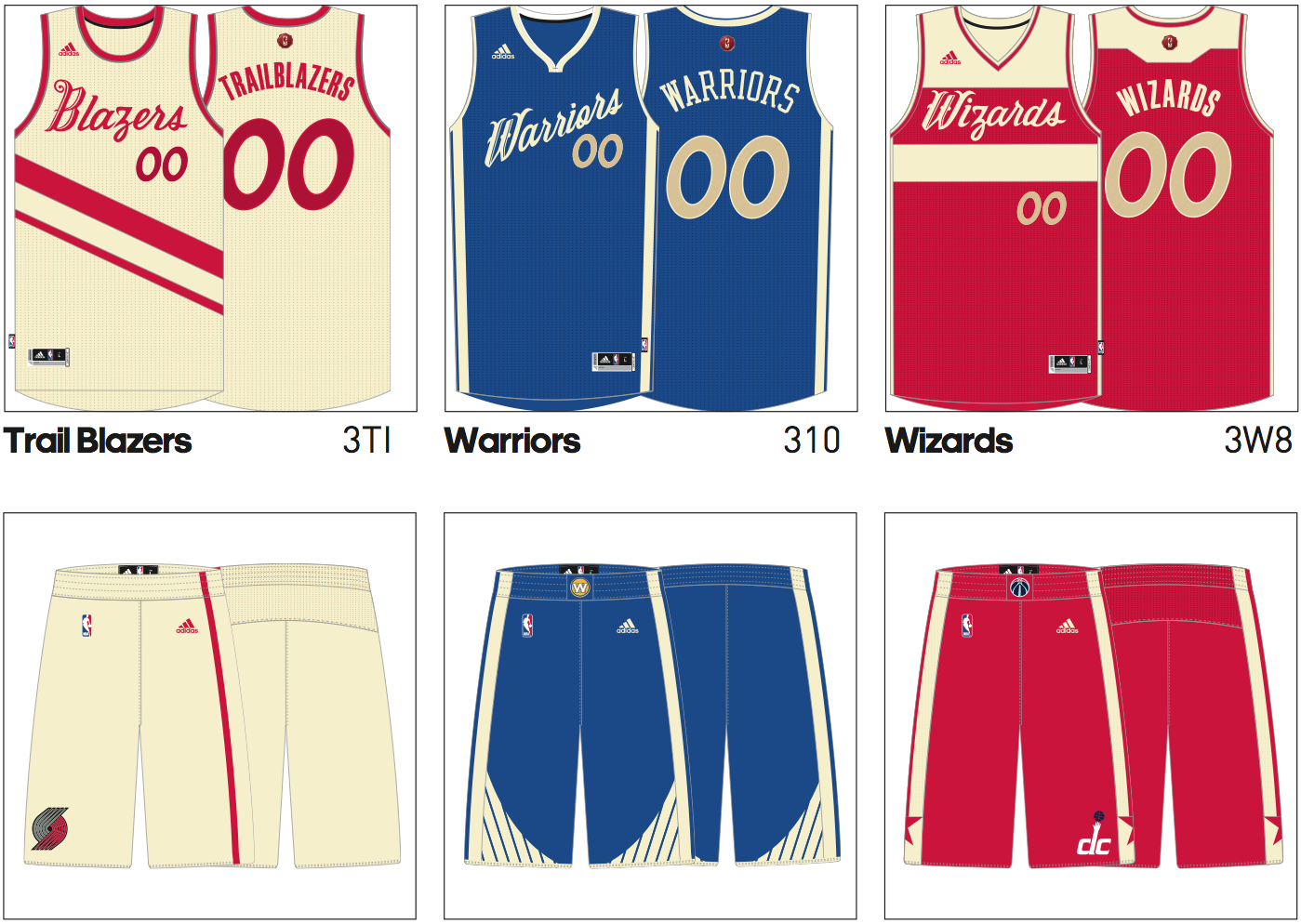 Warriors News: 2015 NBA Christmas Jerseys Leaked – Warriors World