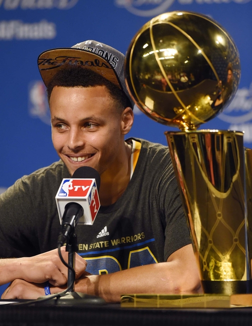 Jun 16 2015 Cleveland OH USA Golden State Warriors Guard Stephen
