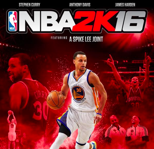 NBA 2K16 Stephen Curry