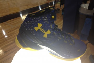 Curry Two Dubnation from Launch Event 10/24/15 Photo Credit- Danny Leroux, Warriors World