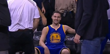 klay-fouled-out