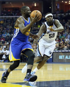 Draymond Green Attacking