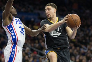 NBA: Golden State Warriors at Philadelphia 76ers