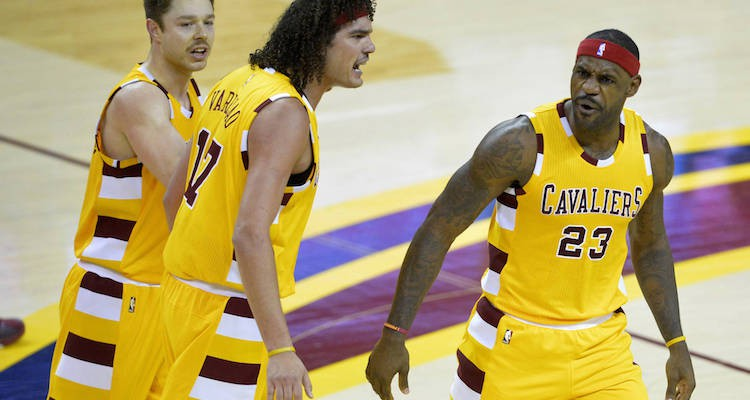 Anderson Varejao Joins the Golden State Warriors
