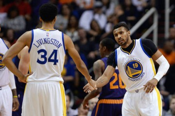 Shaun Livingston Leandro Barbosa