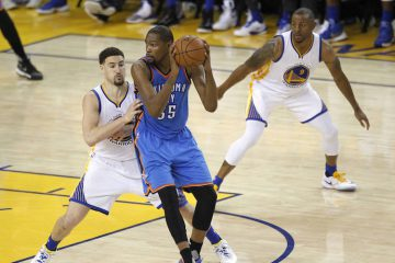 Klay Thompson Defense Kevin Durant