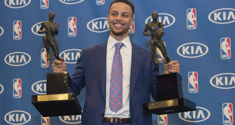 Warriors News Grab A Photo With Stephen Currys MVP Trophies