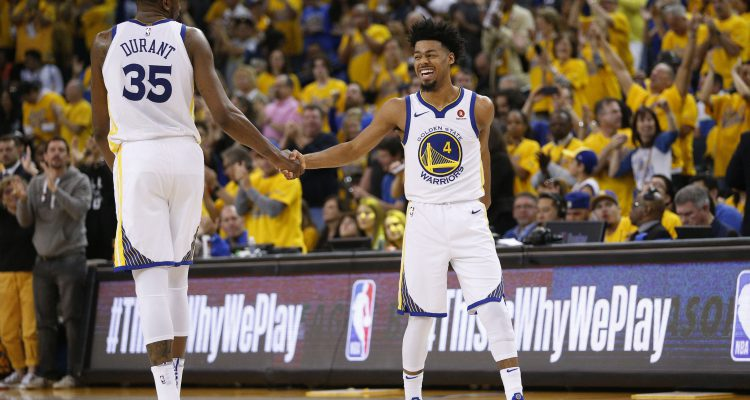 Bertans' Spurs go down 0-2 in playoff series against Warriors
