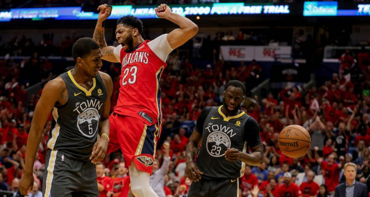 Pelicans power past Warriors to trim series deficit