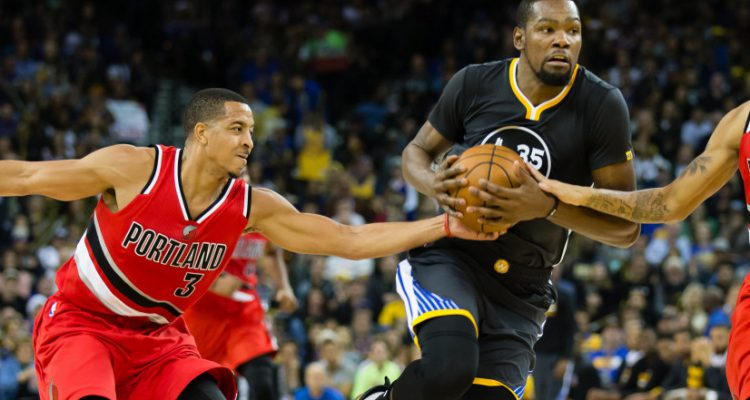 CJ McCollum added to Kevin Durant's social media rap sheet
